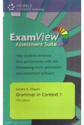 Grammar In Context - 5e - 1 - Assessment CD-ROM With Examview - Elbaum,Sandra N.   Nisrs.org