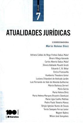 Atualidades Jurídicas - Vol. 7 - Diniz,Maria Helena pdf epub