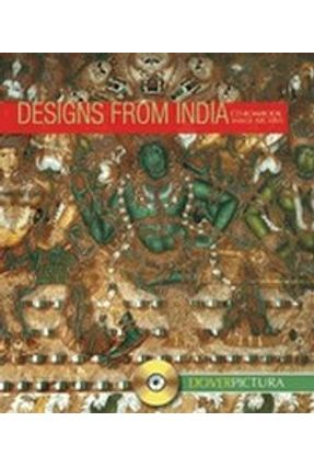 Designs From India - With CD - Dover Pictura Electronic Design Series