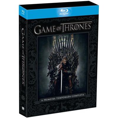 Blu-ray Game Of Thrones - 1ª Temporada - 5 Disco