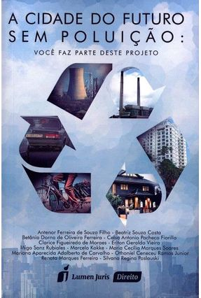 A Cidade do Futuro Sem Poluição - Você Faz Parte Deste Projeto - Costa,Beatriz Souza | Hoshan.org