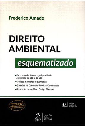 Usado - Direito Ambiental Esquematizado - 6ª Ed. 2015 - Amado,Frederico Augusto Di Trindade | Hoshan.org