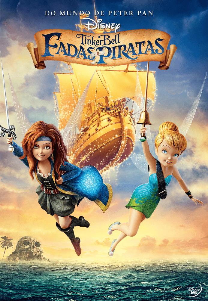Tinker Bell Fadas E Piratas Saraiva