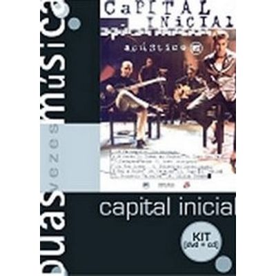 Capital Inicial Acústico Mtv - DVD+CD