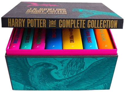 Harry Potter Boxed Set - Adult Hardback Edition