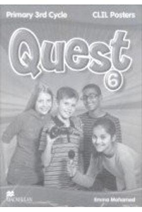 Quest 6 - Clil Posters Pack - Editora Macmillan | Hoshan.org