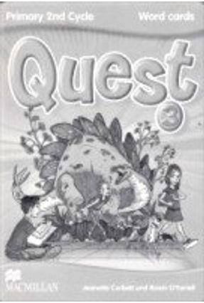 Quest 3 - Word Cards - Editora Macmillan   Hoshan.org