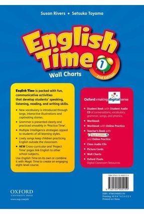 English Time 1 - Wall Charts - 2 Edition - Setsuko Toyama Susan Rivers | Hoshan.org