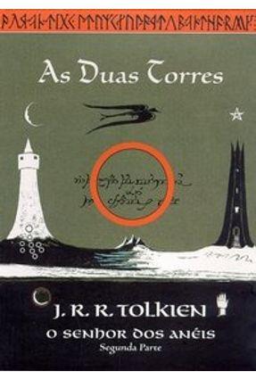 O Senhor dos Anéis 2 - Ilustração da Capa Tolkien - Tolkien,J. R. R. | Hoshan.org