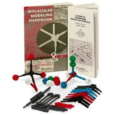 Molecular Modeling Kit to accompany Wiley Organic Chemistry 7e Display stands trays etc
