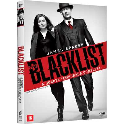 DVD The Blacklist - 4ª Temporada - 4 Discos