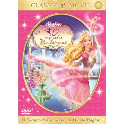 Barbie e As 12 Princesas Bailarinas - DVD