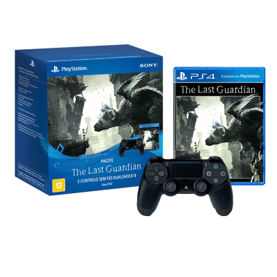 Reembalado - Bundle Controle Dualshock 4 + The Last Guardian - PS4 Pro/Slim