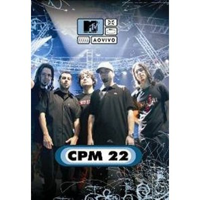 Music Pac - Cpm 22 Mtv ao Vivo - DVD