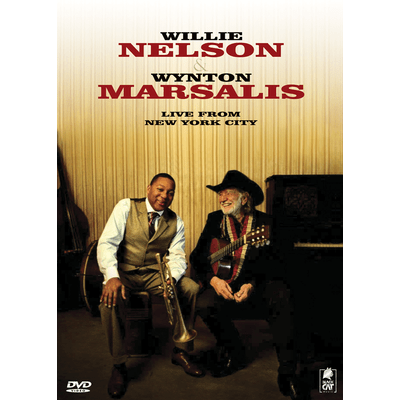 Willie Nelson & Wynton Marsalis - Live From New York City - DVD