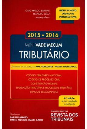 Mini Vade Mecum Tributário - 4ª Ed. 2015 - Barroso,Darlan Junior,Marco Antonio Araujo   Hoshan.org