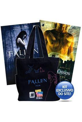 Kit - Livro Fallen + Cidade dos Ossos - Acompanha Sacola - Editora Record   Hoshan.org