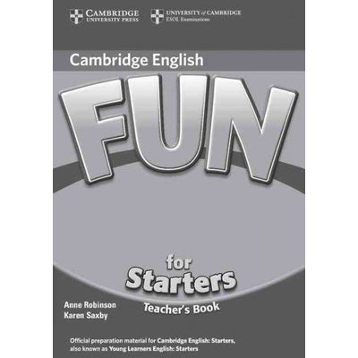 Fun For Starters - Teacher's Book - 2nd Edition