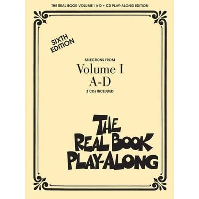 The Real Book Play-Along, Volume 1 A-D With 3