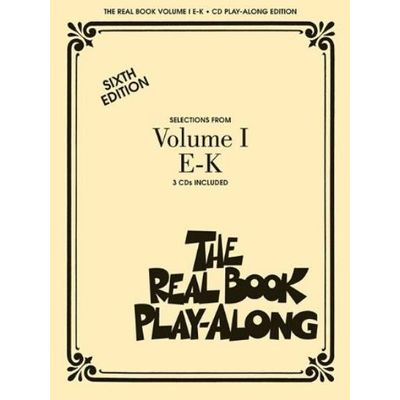 The Real Book Play-Along, Volume 1 E-K With 3