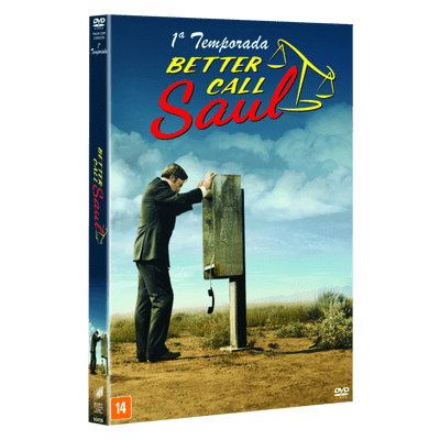 DVD Better Call Saul - 1ª Temporada - 3 DVDs