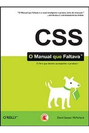 Css - O Manual que Faltava - McFarland,David Sawyer pdf epub