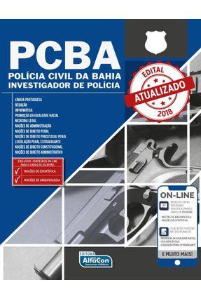 Polícia Civil da Bahia - Investigador De Polícia -  PC Ba - Alfacon   Tagrny.org