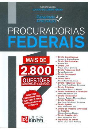Usado - Procuradorias Federais - Col. Gabaritado & Aprovado