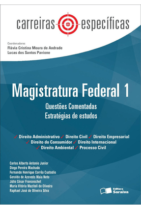 Usado - Carreiras Específicas - Magistratura Federal 1 - Questões Comentadas - Estratégias de Estudos