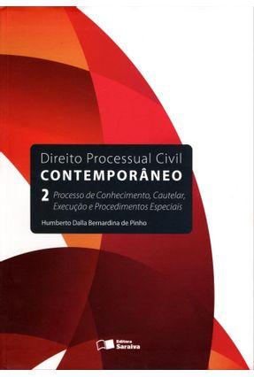Usado - Direito Processual Civil Contemporâneo 2 - Processo de Conhecimento, Cautelar, Execução...