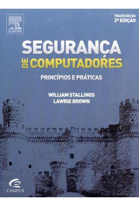 Usado - Segurança de Computadores - Princípios e Práticas - 2ª Ed. 2014
