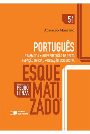Usado - Português Esquematizado - Gramática, Interpretação de Texto... - 5ª Ed. 2016 -  pdf epub
