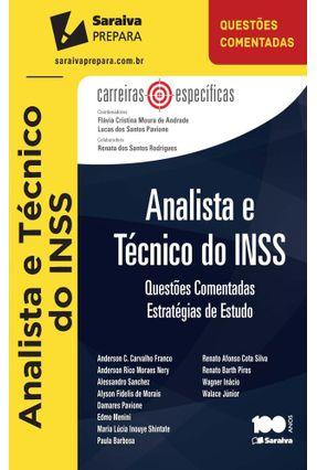 Usado - Analista e Técnico do INSS - Questões Comentadas - Col. Carreiras Específicas -  pdf epub