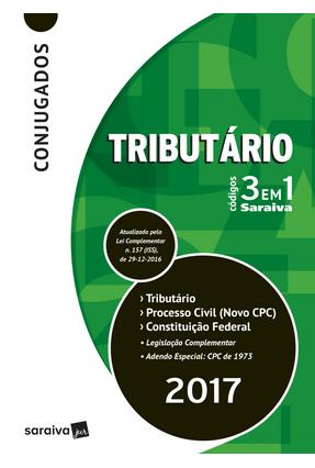Usado - Códigos 3 Em 1 Conjugados - Tributário, Processo Civil e Constituição Federal - 13ª Ed. 2017