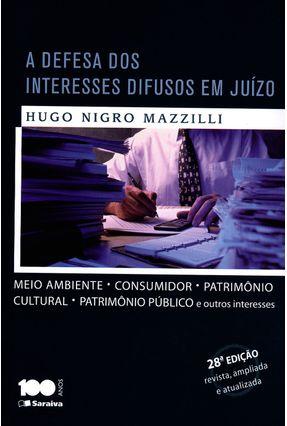 Usado - A Defesa Dos Interesses Difusos Em Juízo - 28ª Ed. -  pdf epub