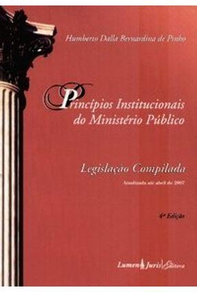 Usado - Princípios Institucionais do Ministério Público - 4ª Ed.