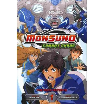 Monsuno Combat Chaos Vol. 1 - The Moto Mutants