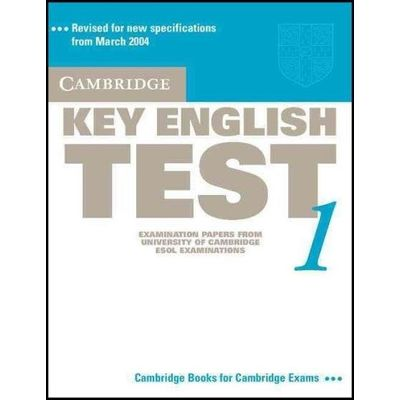 Cambridge Key English Test 1 - Student's Book - New Edition