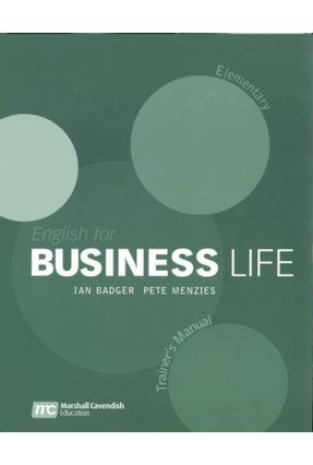 English For Business Life - Elementary - Trainer´s Manual - Badger,Ian Menzies,Pete pdf epub