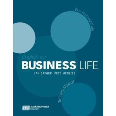 English For Business Life - Pre-intermediate - Trainer´s Manual