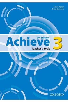 Achieve - Level 2 - Teacher's Book - 2ª Ed. 2013 - Editora Oxford | Nisrs.org