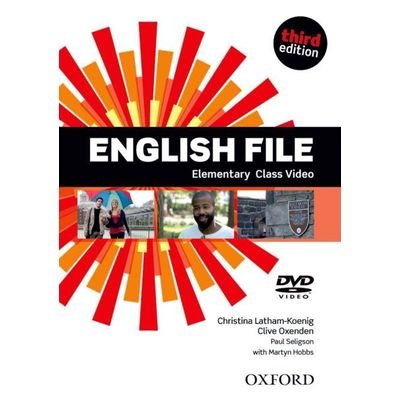 English File - Elementary - CLASS DVD - 3ª Ed.
