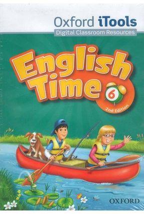 ENGLISH TIME 6 - ITOOLS DVDROM - 2ª Ed. - Editora Oxford pdf epub
