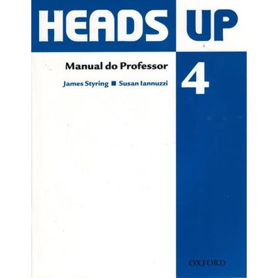 Heads Up 4 - Manual do Professor - Pack