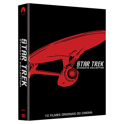 Dvd Coleção Star Trek - Stardate Collection - 10 Discos