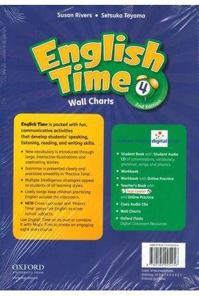 English Time 4 - Wall Charts - 2 Edition - Susan Rivers Toyama Rivers   Hoshan.org