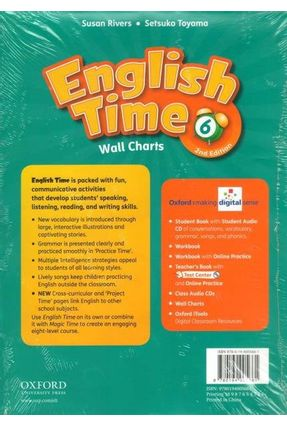 English Time 6 - Wall Charts - 2 Edition - Susan Rivers Toyama Rivers   Hoshan.org