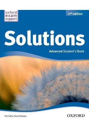 Solutions - Advanced - Student Book - Editora Oxford | Nisrs.org