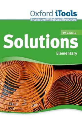 Solutions - Elementary -  ITOOLS DVDROM - 2ª Ed. - Editora Oxford | Hoshan.org