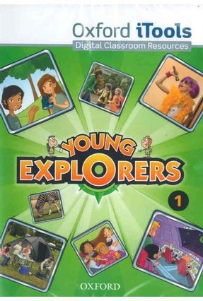 Young Explorers - Level 1 - Itools + DVD-ROM - Editora Oxford | Tagrny.org